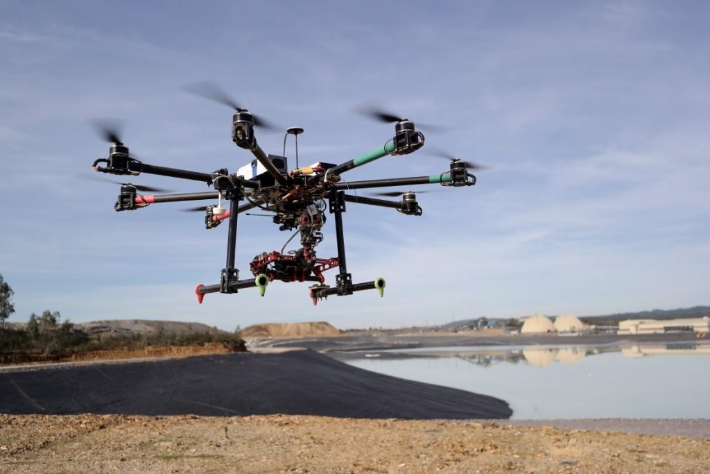 dron aereo